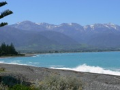 Beach at Kaikoura